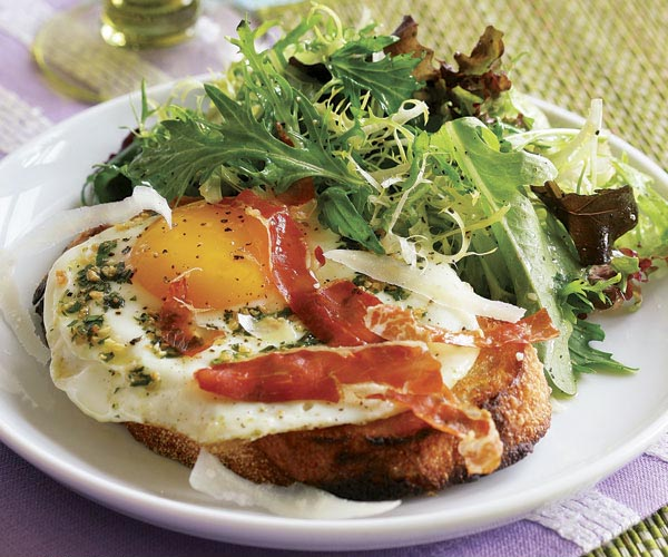 Garlic & Herb Fried Eggs
