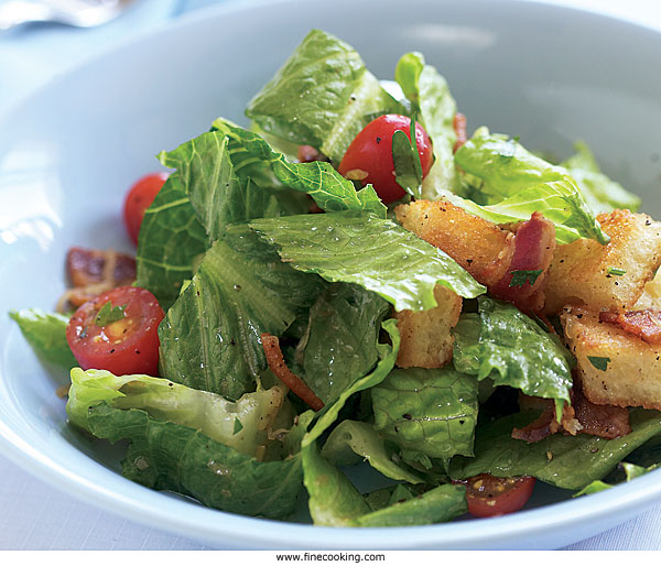 Romaine, Bacon & Tomato Salad