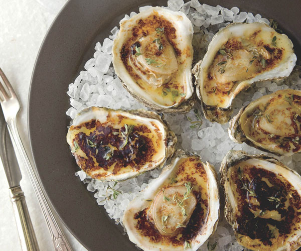 Butter Roasted Oysters