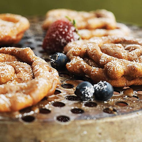 Root Beer Funnel Cakes