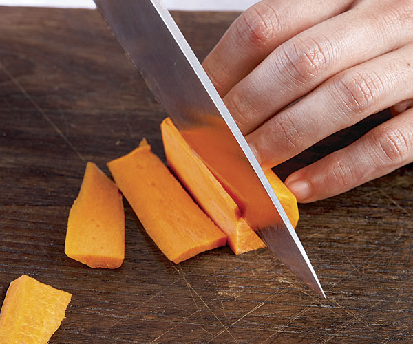 How to Cut Julienne Strips