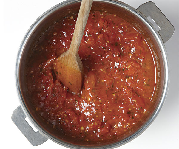 Cooked Fresh Tomato Sauce Recipe Finecooking