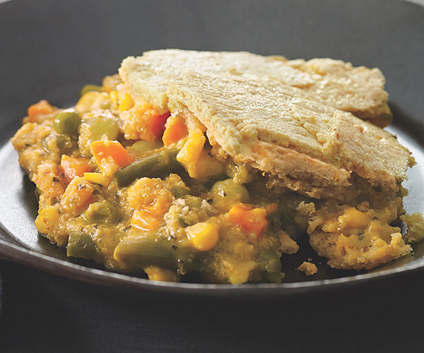 Vegetable and Grist Pot Pie