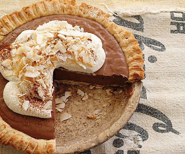Vegan Chocolate-Coconut Cream Pie