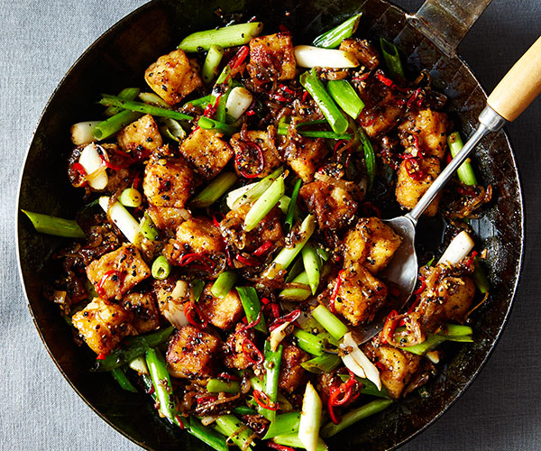 Black Pepper Tofu