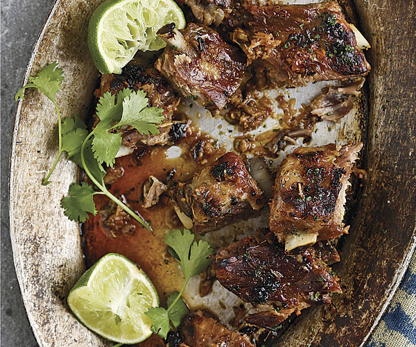 Vietnamese Spareribs with Chile and Lemongrass