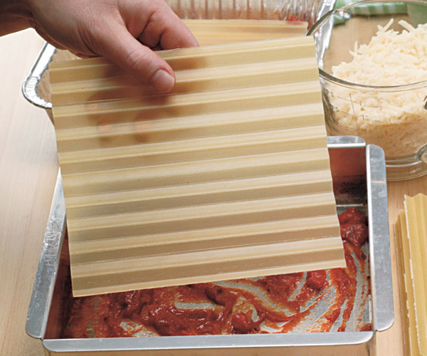 Lasagna Make 3 Freeze 2 How To Finecooking